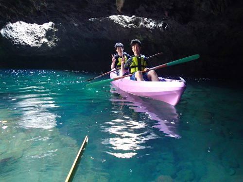 弓ヶ浜タライ岬の「青の洞窟」ツアー